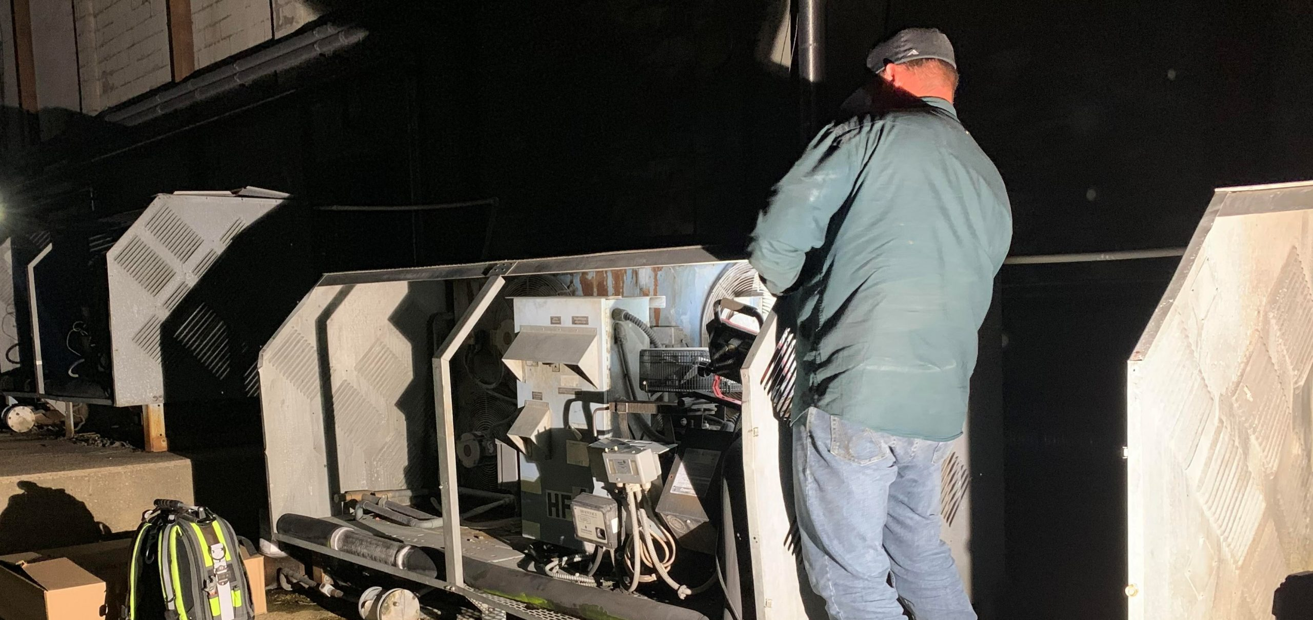 What does a chiller service call cost